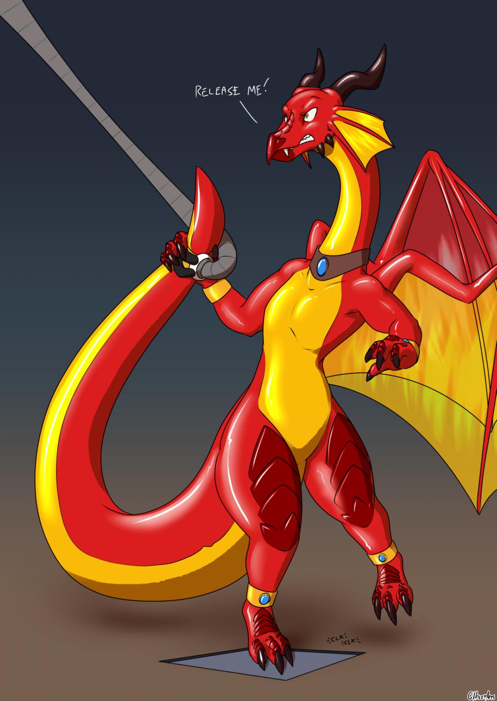 Avarisa the Inflatable Dragon #7