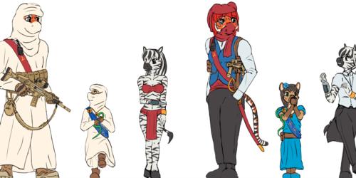 Character sketchies (WIP 4)