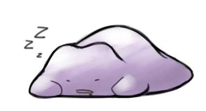 Sleeping Ditto