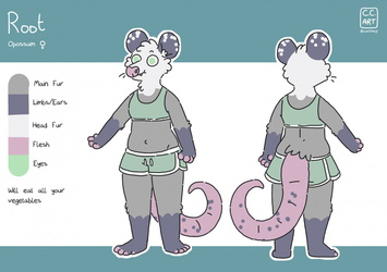 new Root ref