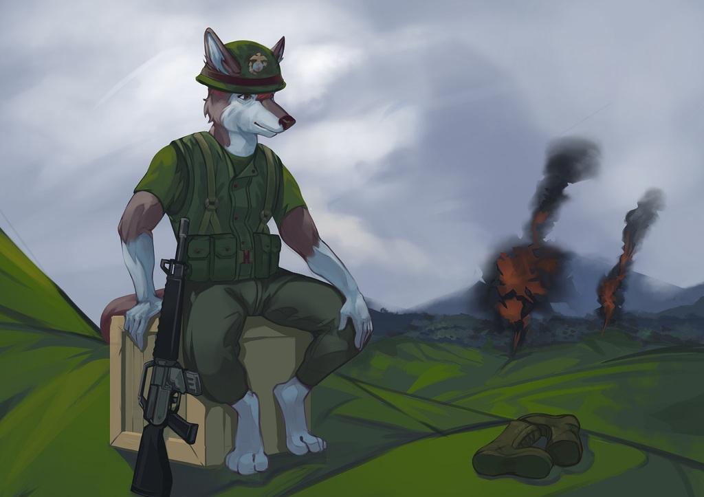 Vietnam Marine Husky [C]