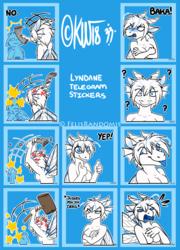 Lyndane Telegram Stickers