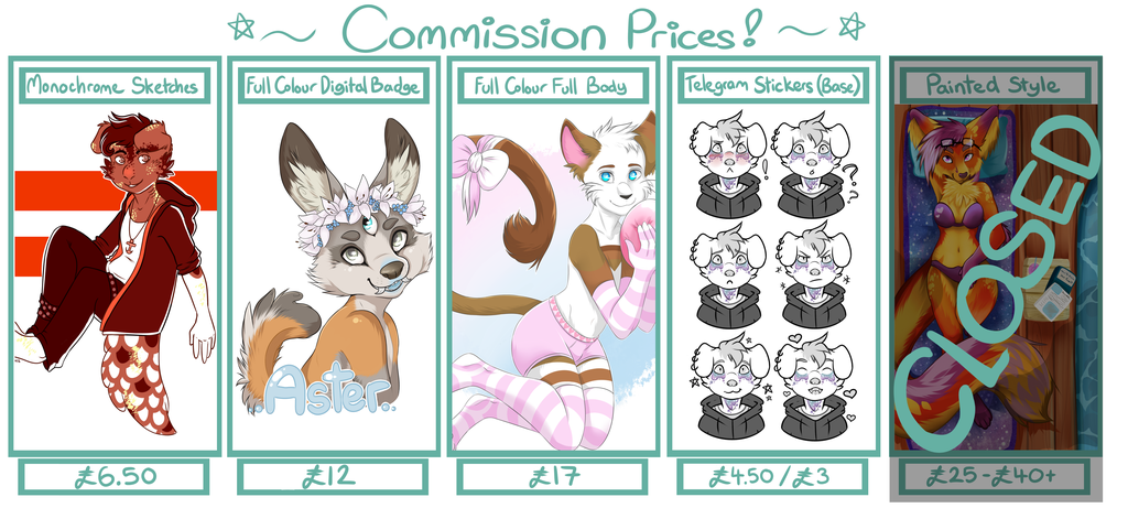Featured image: COMMISSIONS OPEN!!! ~