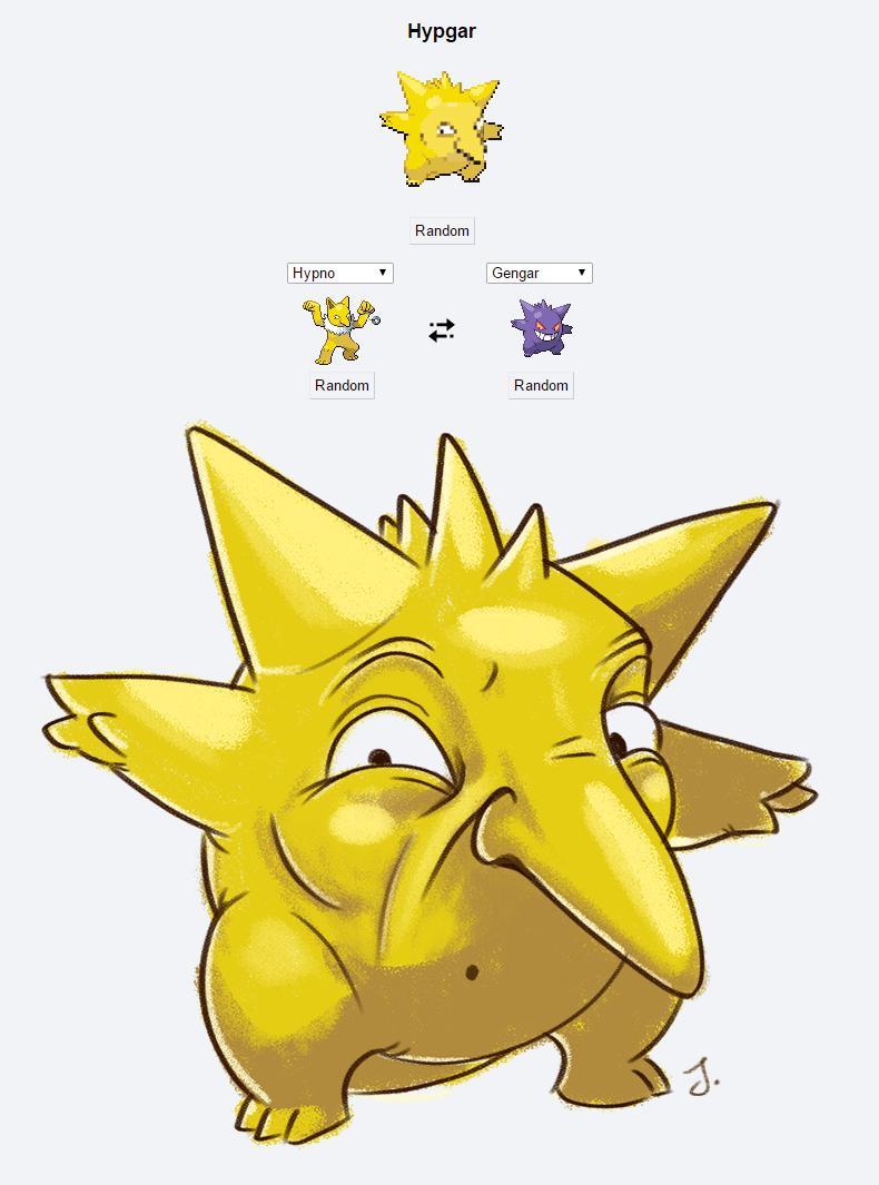 Pokémon Fusion: Hypgar