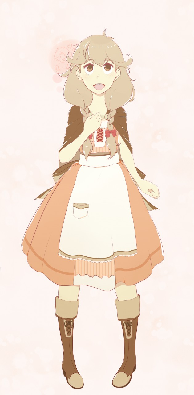 Most recent image: Rough cel style Faye