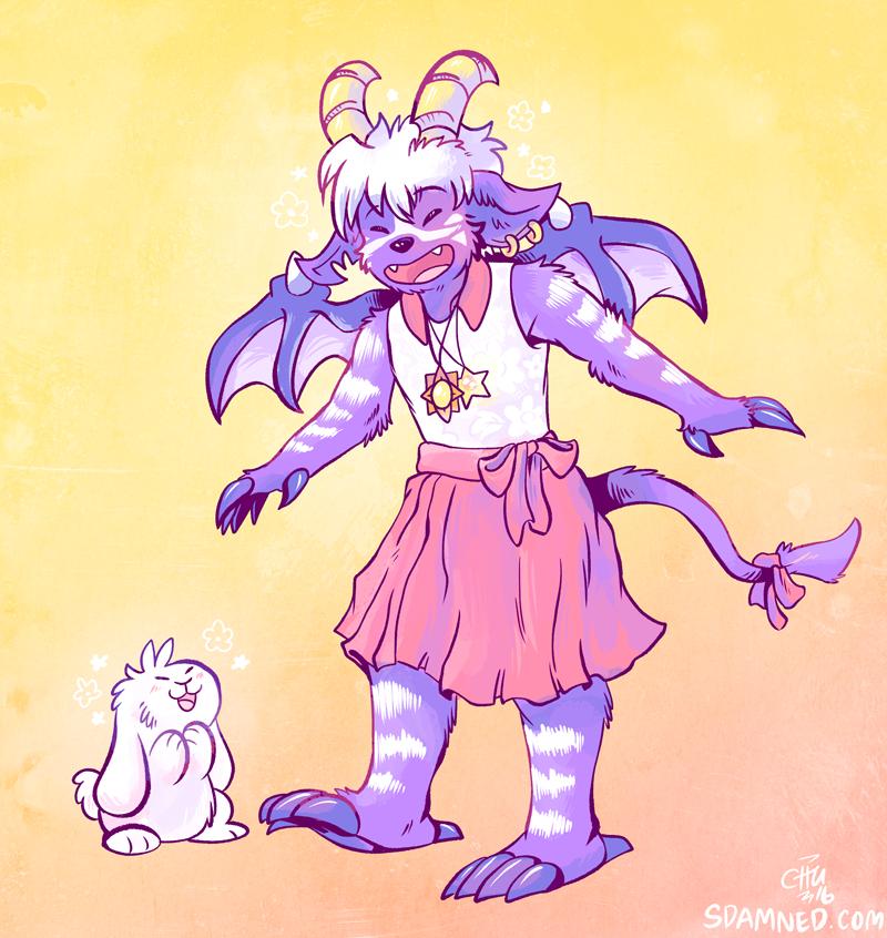 Demon in a Dress