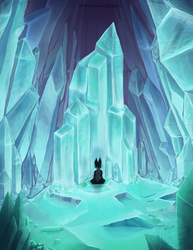 Frozen Calm of Crystal Caverns