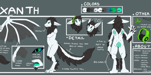 [COM] Zuo Exanth Reference Sheet