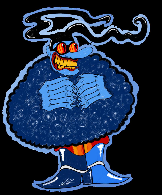 O-BLUE-terate