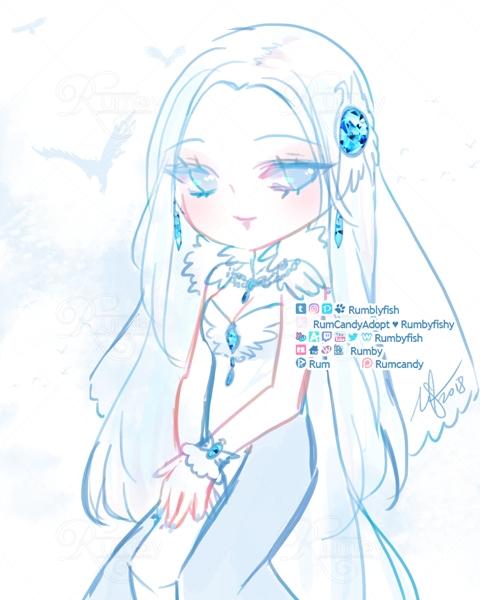 Atedarian Saga Deanna Sketch