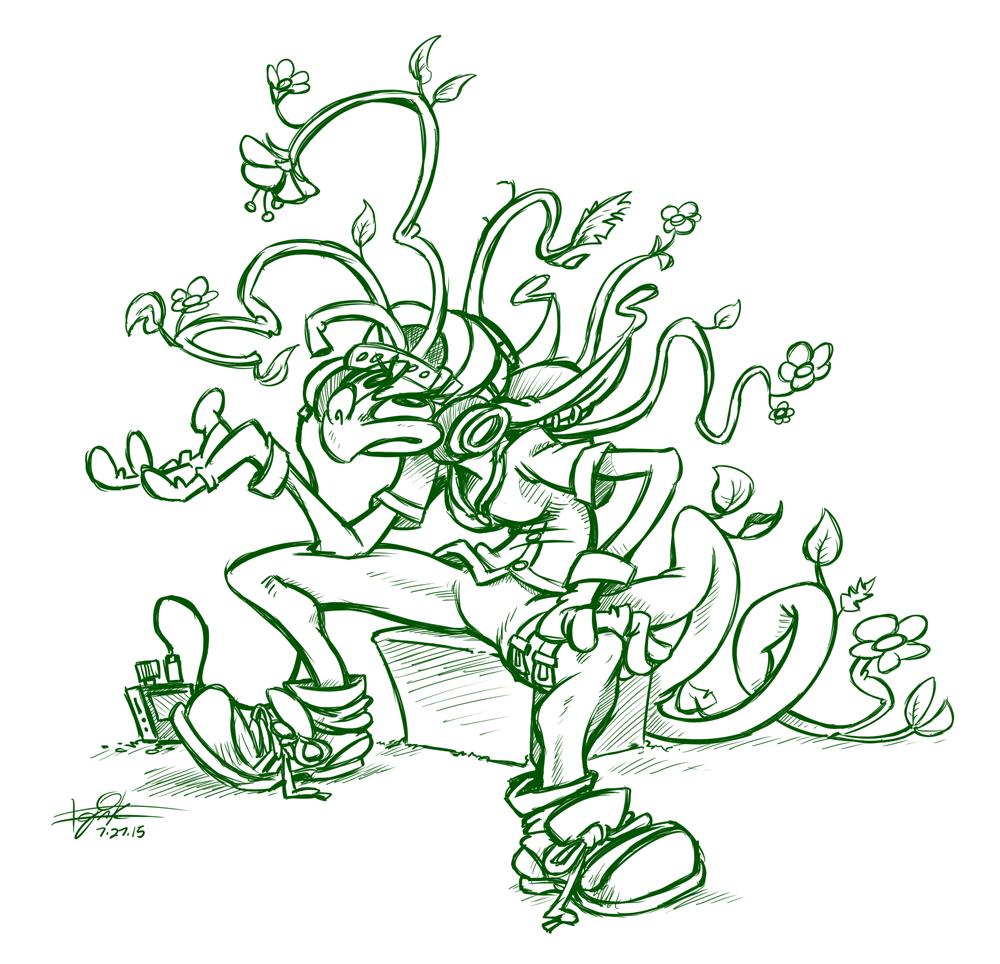 Flowery Vagrant