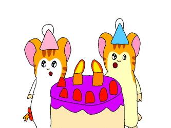 Happy Birthday Sandy and Stan!