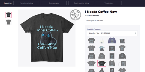 I needz coffee nao Shirt