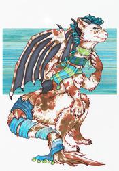 Dragon Scarves