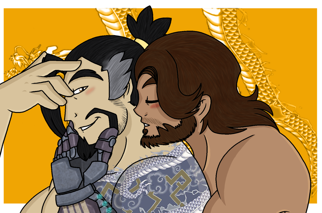 Overwatch:Kiss the Dragon