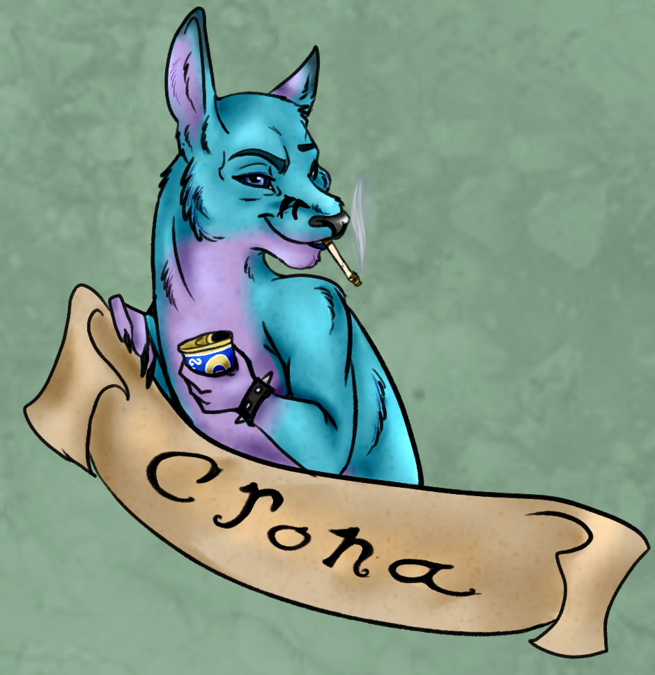 Crona Badge!