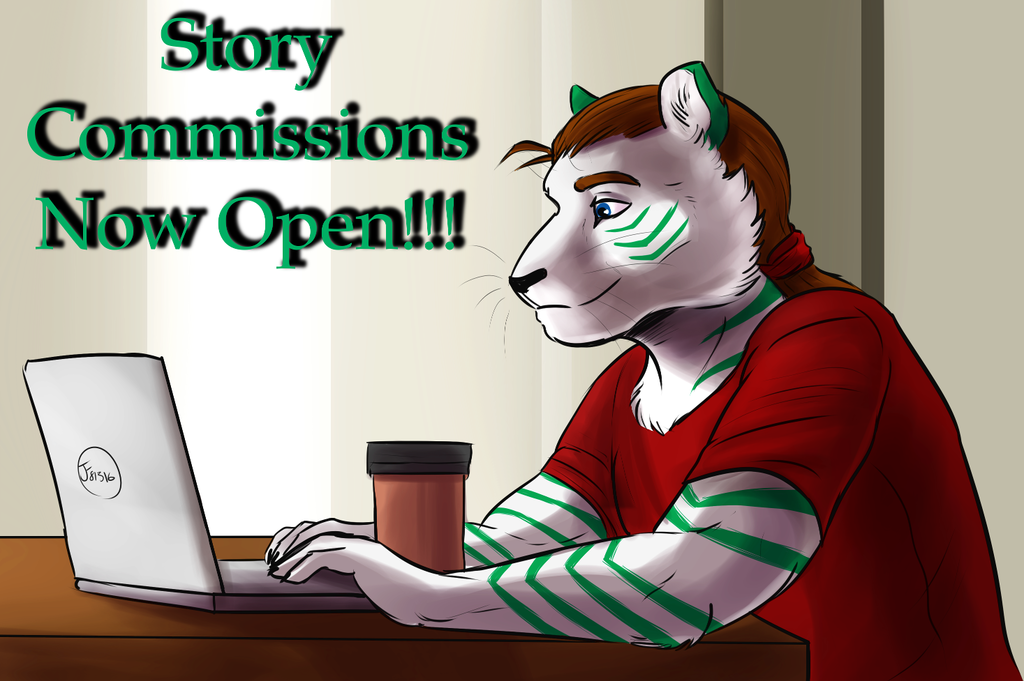 Most recent image: Story Commissions Open!!!