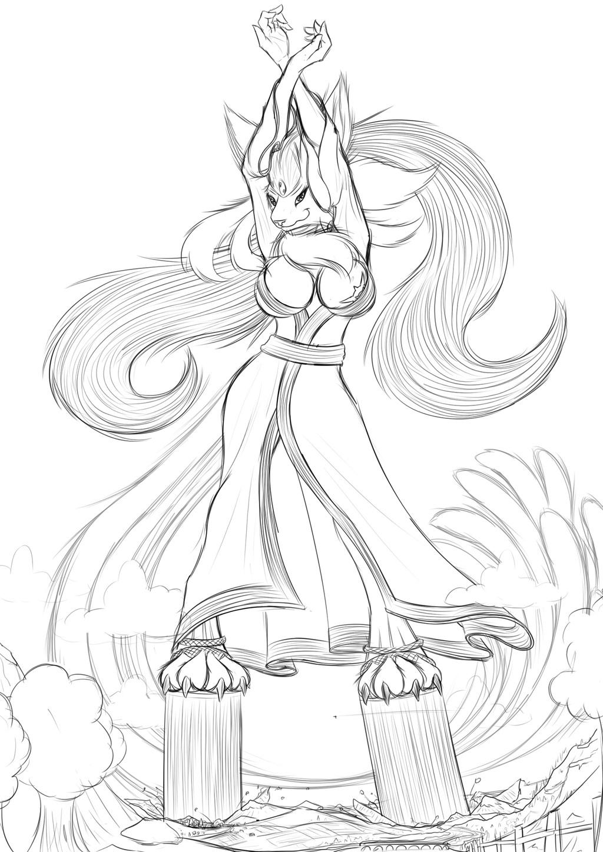 Dance of the Sun - Sketch