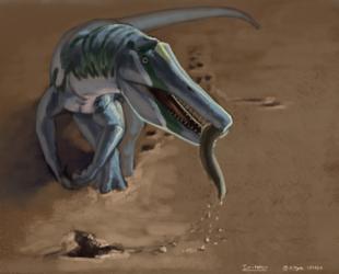 Dinovember 26 - Irritator