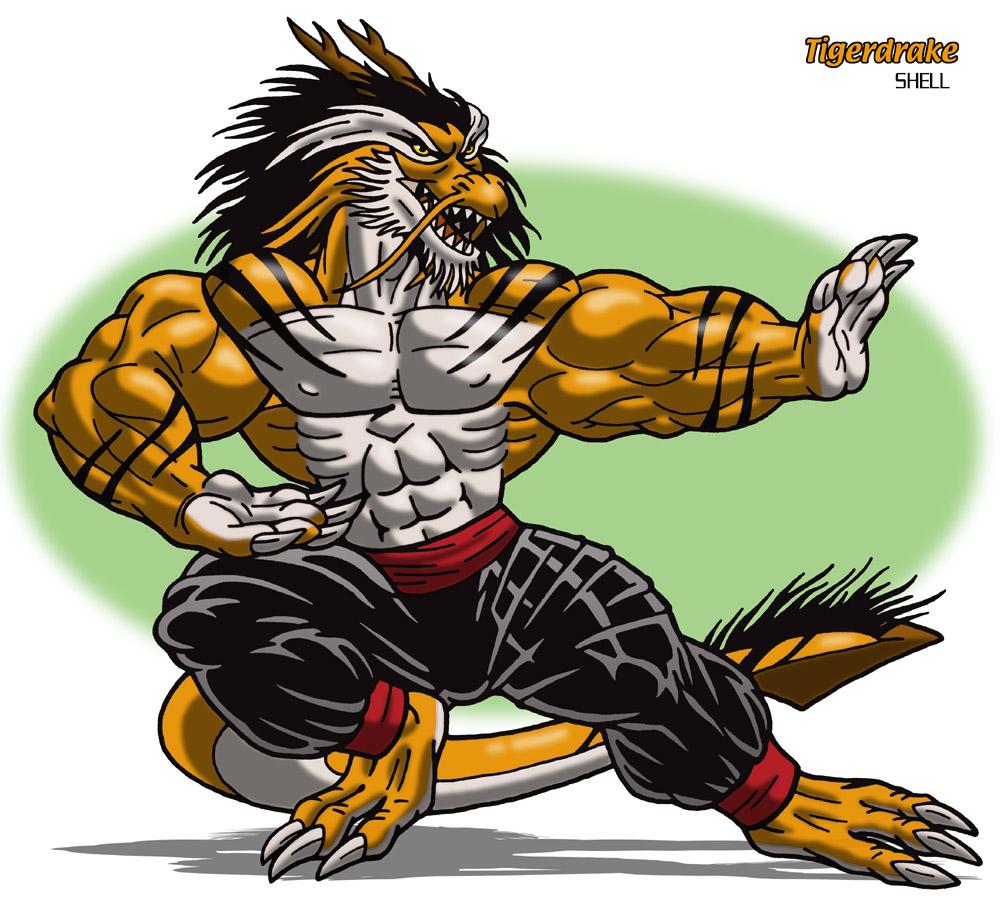 Featured image: Tigerdrake
