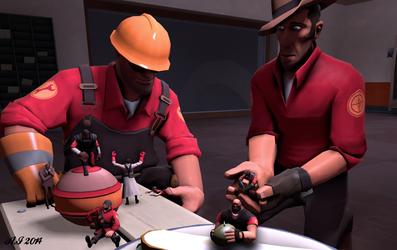 """Sniper, I shrunk the team."""