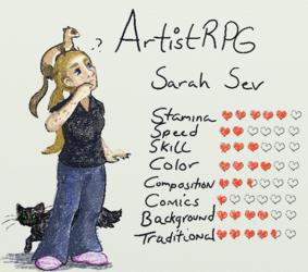 Artist RPG