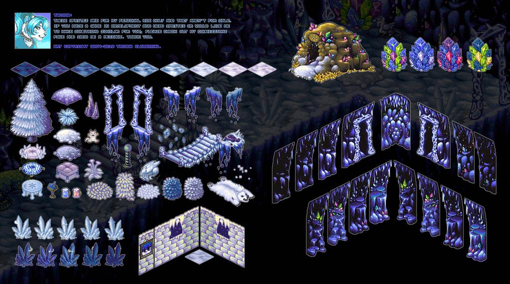Club Nimbus - Ice Cave Sprites