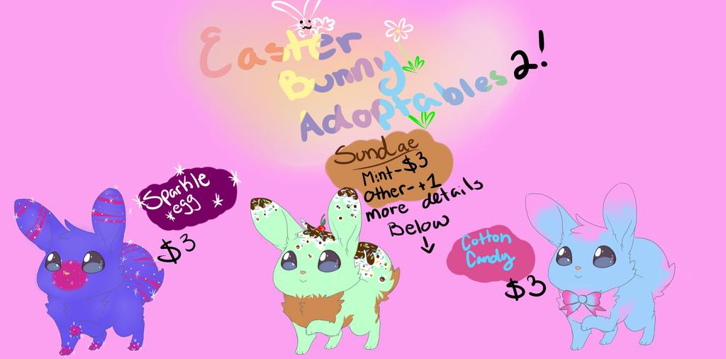 Easter bunny adoptables 2