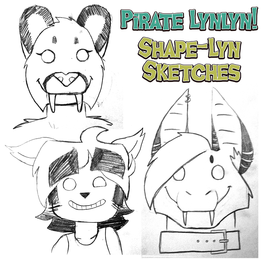 Shape-lyn Sketches!