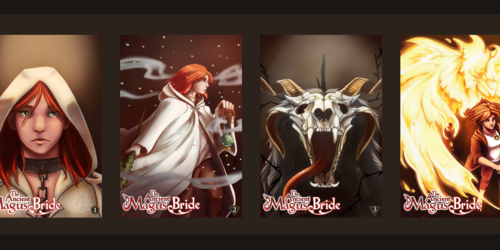 Ancient Magus Bride Book Cover Series