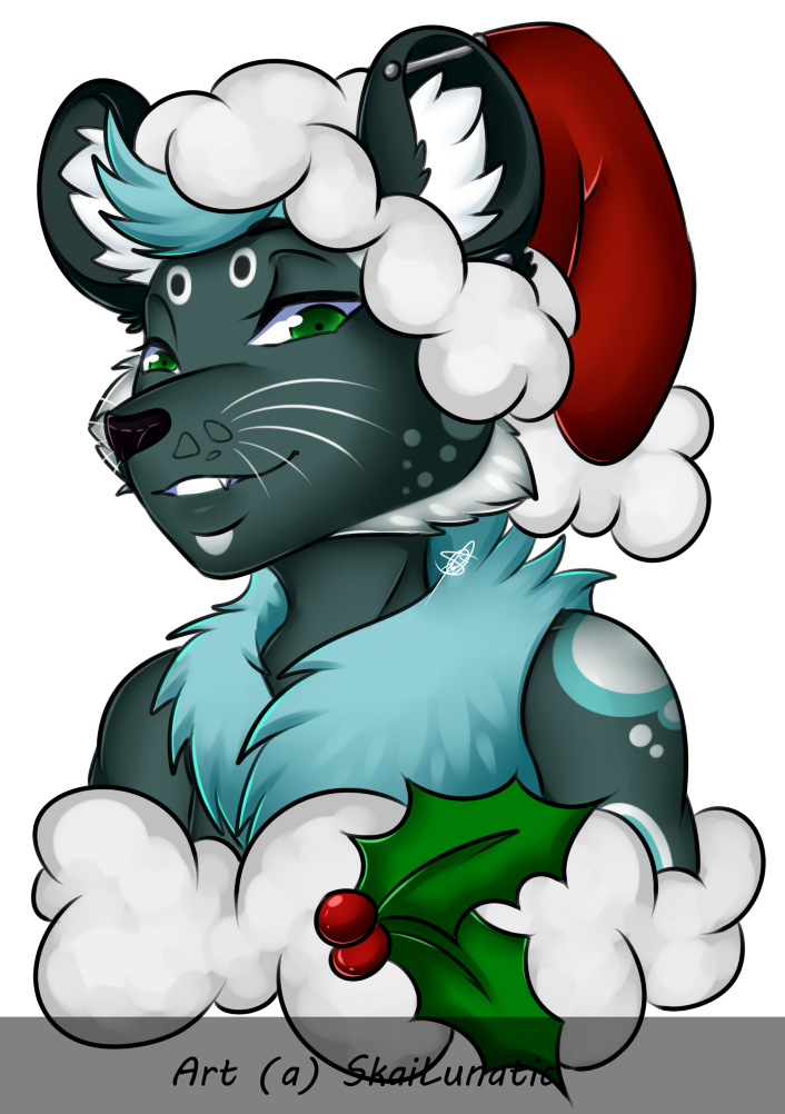 Ashley is in the festive spirit