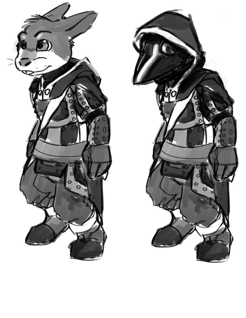 Pathfinder PC - Bunny Plague Doctor?
