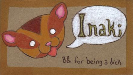 Magnet for Inaki by Dogslug
