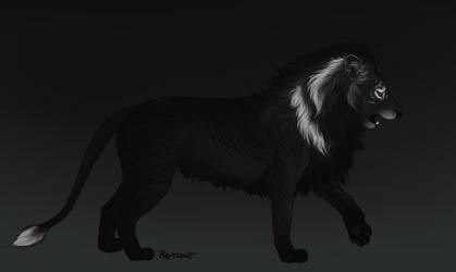 dark lion