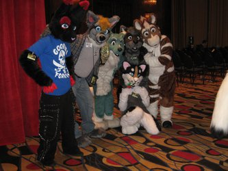 FWA 2012 - Day 1 - Group Fursuit Photo