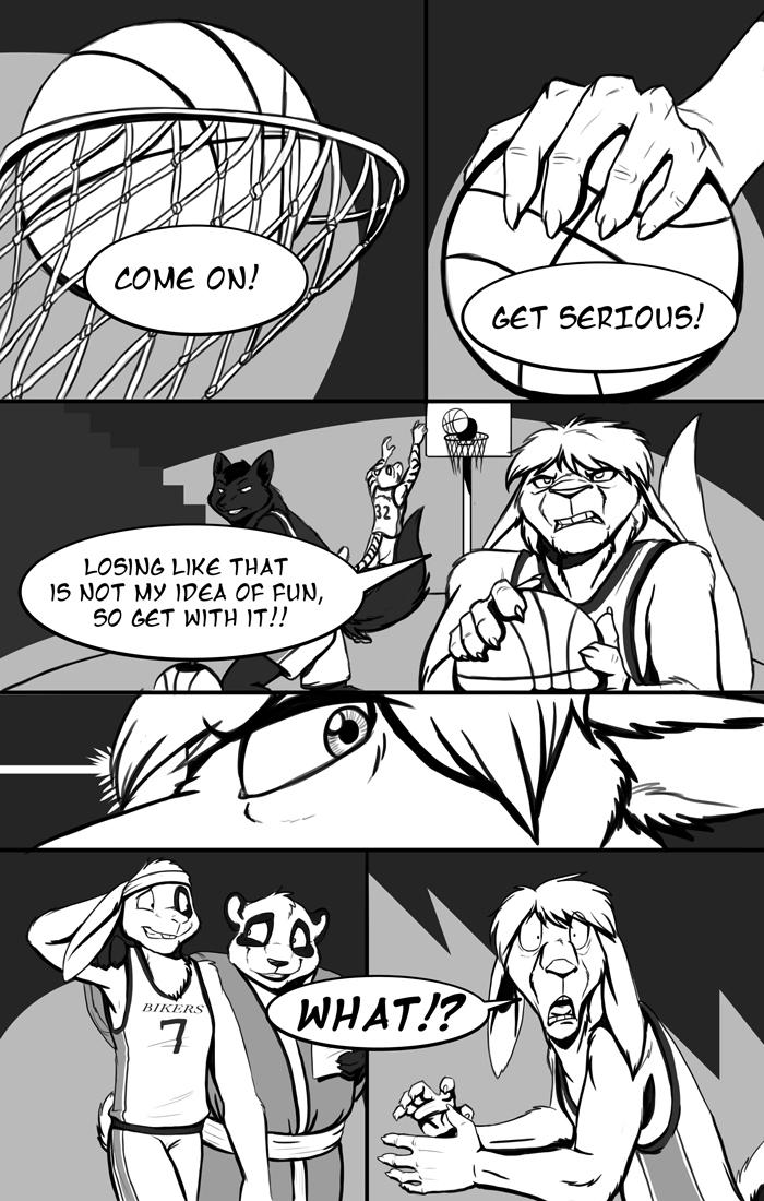 The Dakota Bikers Webcomic (Issue #1, Page #1)