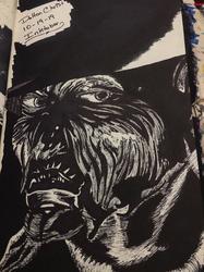 The Creeper (Inktober 2019, Day 19)