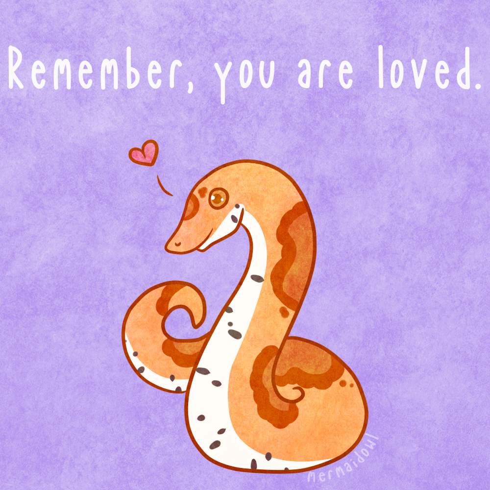 Reminder Noodle: You Are Loved.
