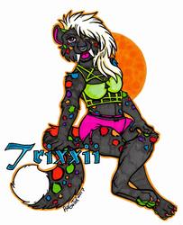 Full Body Badge - Trixxii