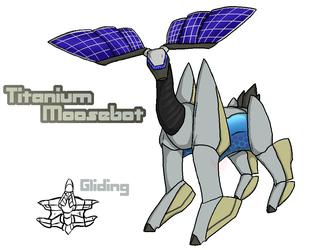 Titanium Moosebot