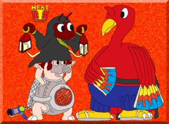 GG Elemental Force: Heat House Members