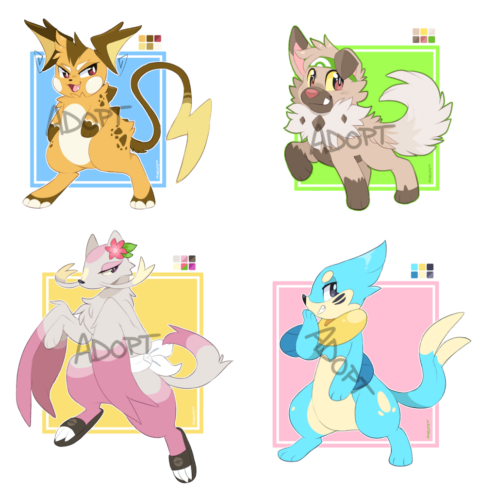 Flat Rate PokeAdopts Set 1