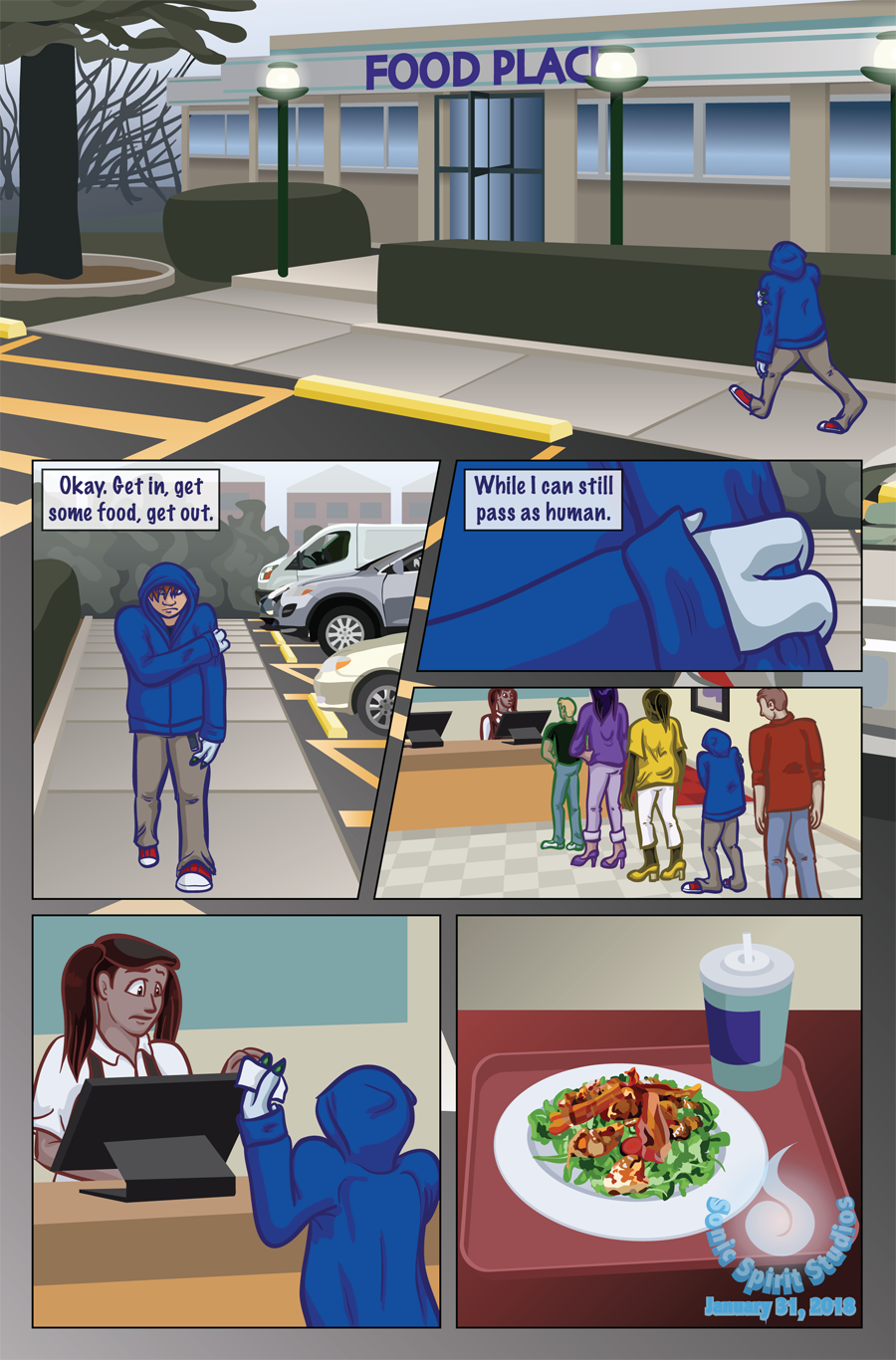 The New Normal - Prologue Page 1