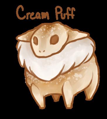 Dessert Monster: Cream Puff