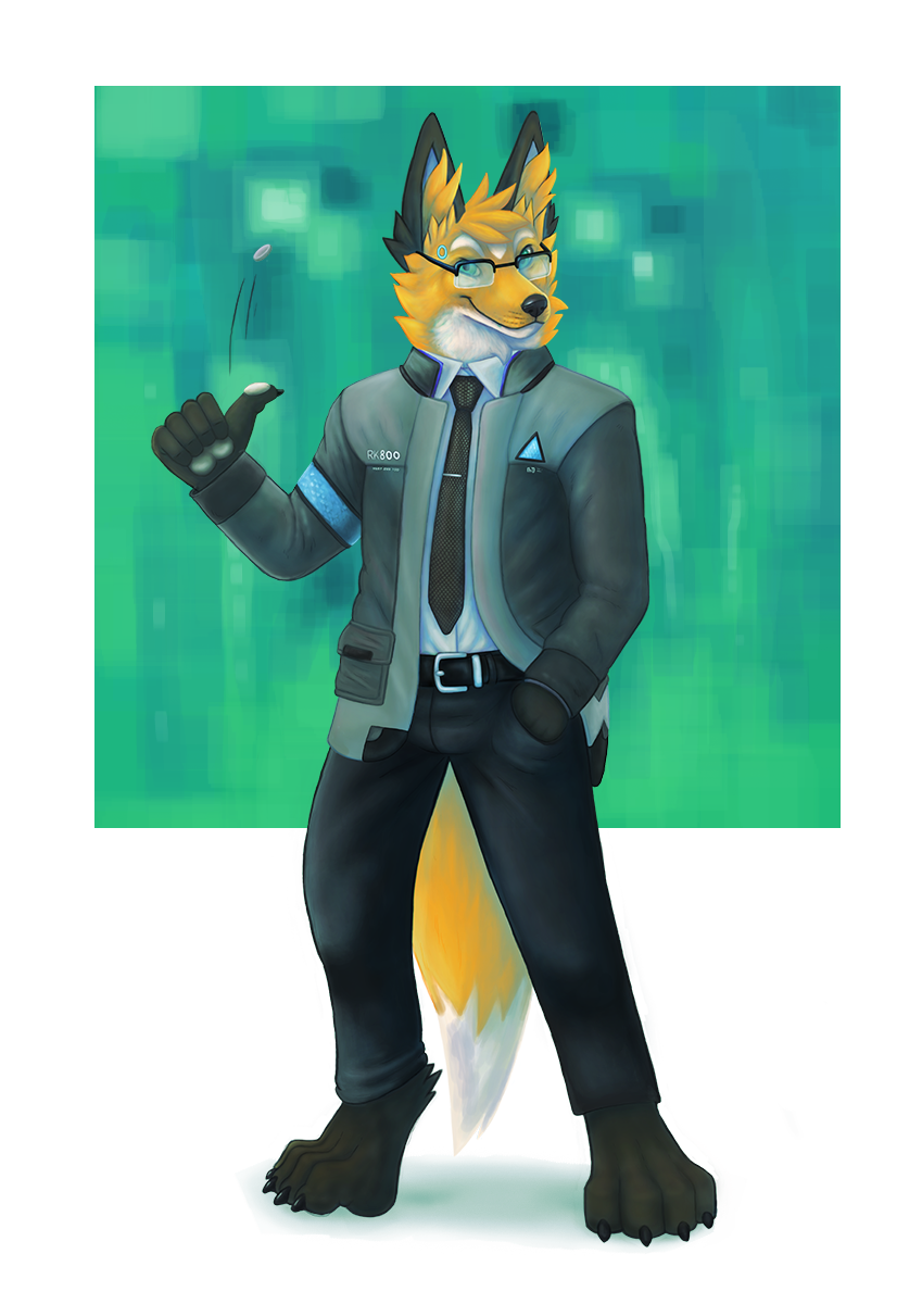 Most recent image: I'm the fox android sent by FurryLYFE