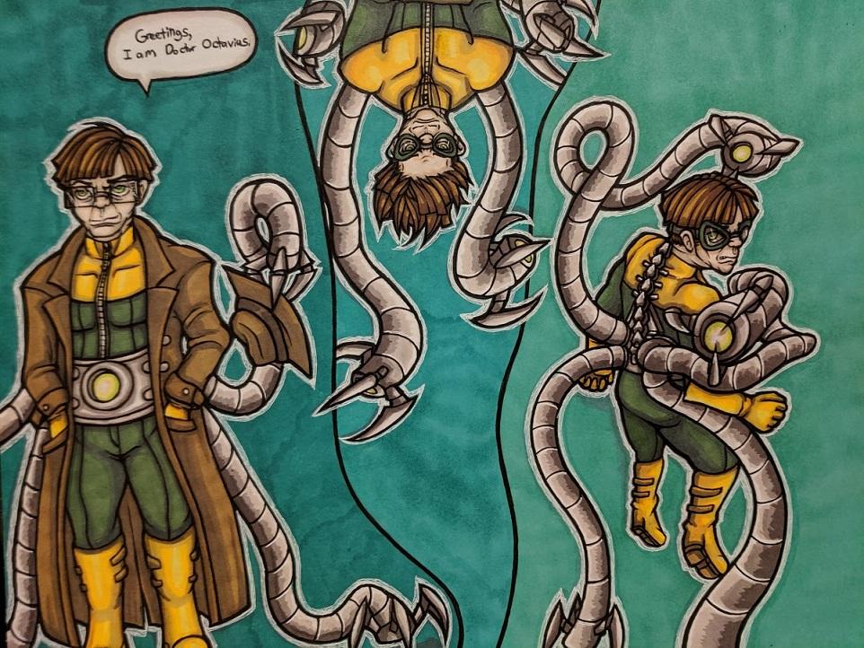 Most recent image: Doctor Octopus Doodles II