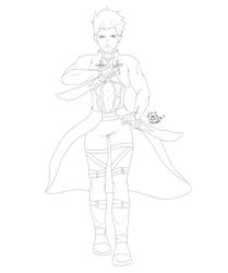 Inktober 17th - Archer