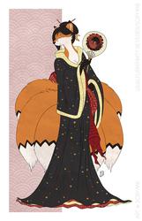 FoxyMary - Ukiyo-e