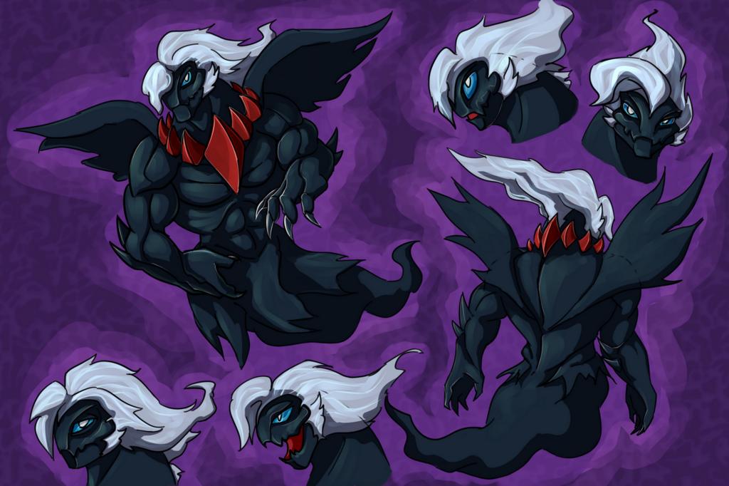 Most recent image: Darkrai redesign