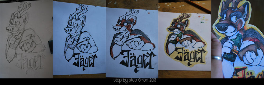 Most recent image: step by step